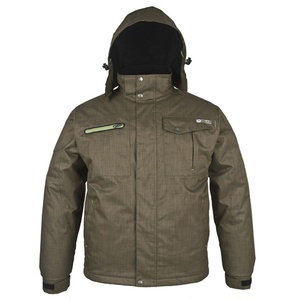 OEM export garments khaki bomber parka jacket men