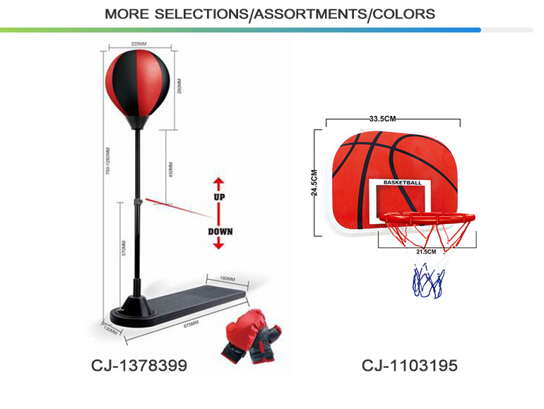 High quality sport set game mini indoor educational basketball stand toy