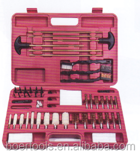 Universal Gun Cleaning Brush Kit packed with blow case