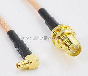 RG 178 RF Coaxial cable Pigtail MMCX male to SMA female