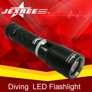 Underwater flashlight for diving max diving flashlight high intensity discharge flashlight