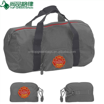 2017 cotton canvas organizer foldable travel bag outdoor folding bag