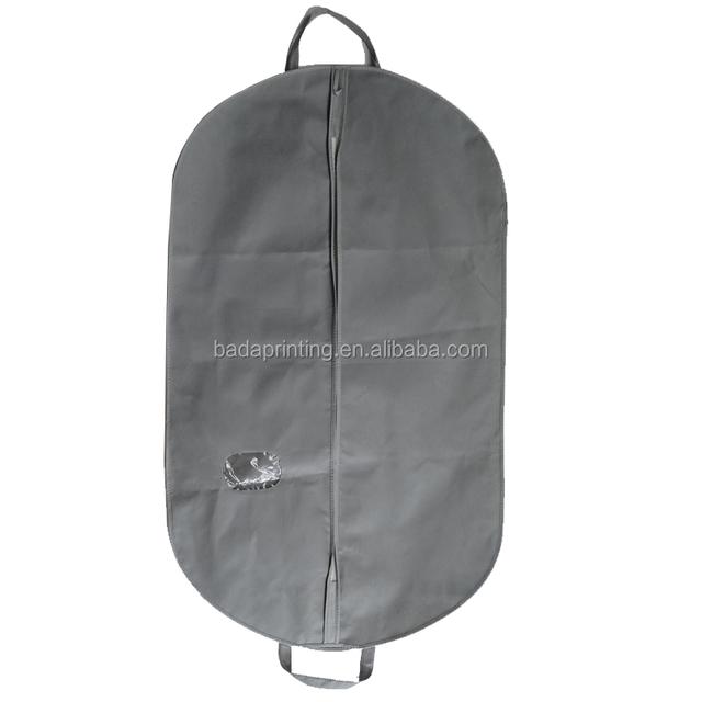 Wedding Dress Storage Bag Clear Plastic Zipper Garment Bag Peva Garment Bag