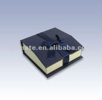 2012 black new design shape cardboard display boxes, candle box with bow tie
