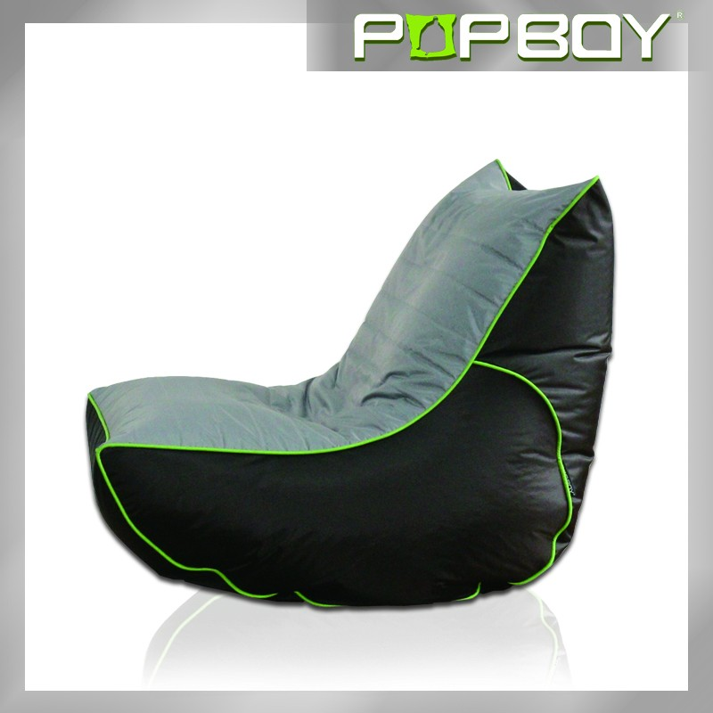 Original European style floor recliner beanbag chairs with back support