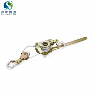 Hand operate ratchet withdrawing wire tool