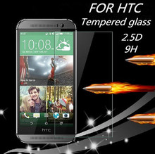 Free shipping 2.5D 9H Screen Protector Tempered Glass For HTC Desire 816 820 826 E8 E9 One Max Cover Case Protective Film