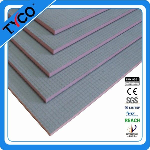 Schluter Quality XPS Foam Core Coated With Fiberglass Mesh and Polymer Cement Board