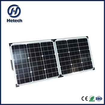 New Products 80 Watt Portable Solar Panel With Outlet