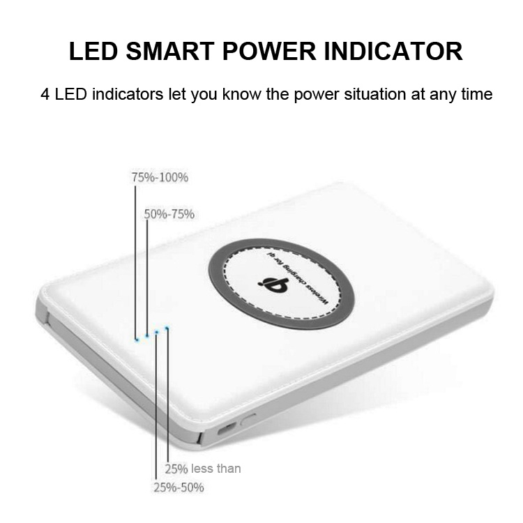 large capacity qi wireless power bank