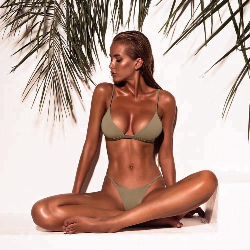 f99315b4cea Wholesale Hot Sexy Brazilian Bikini Micro bikini Two piece swimsuits for  women 2018. Hot sale products