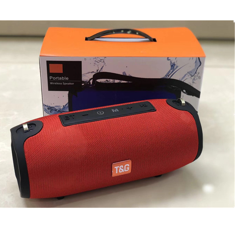 TG125 Stereo Portable Nirkabel Bluetooth Bass Tahan Air Sub Woofer Musik FM Radio TF AUX Portable Outdoor Subwoofer Speaker