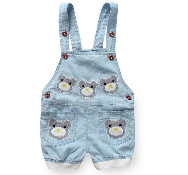 0044d58b0684 Get Quotations · new 2015 summer fashion unisex bebe children baby overalls  denim shorts for baby girls boys jumpsuit