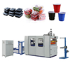 High-performance fully automatic disposable plastic cups thermoforming making machine price