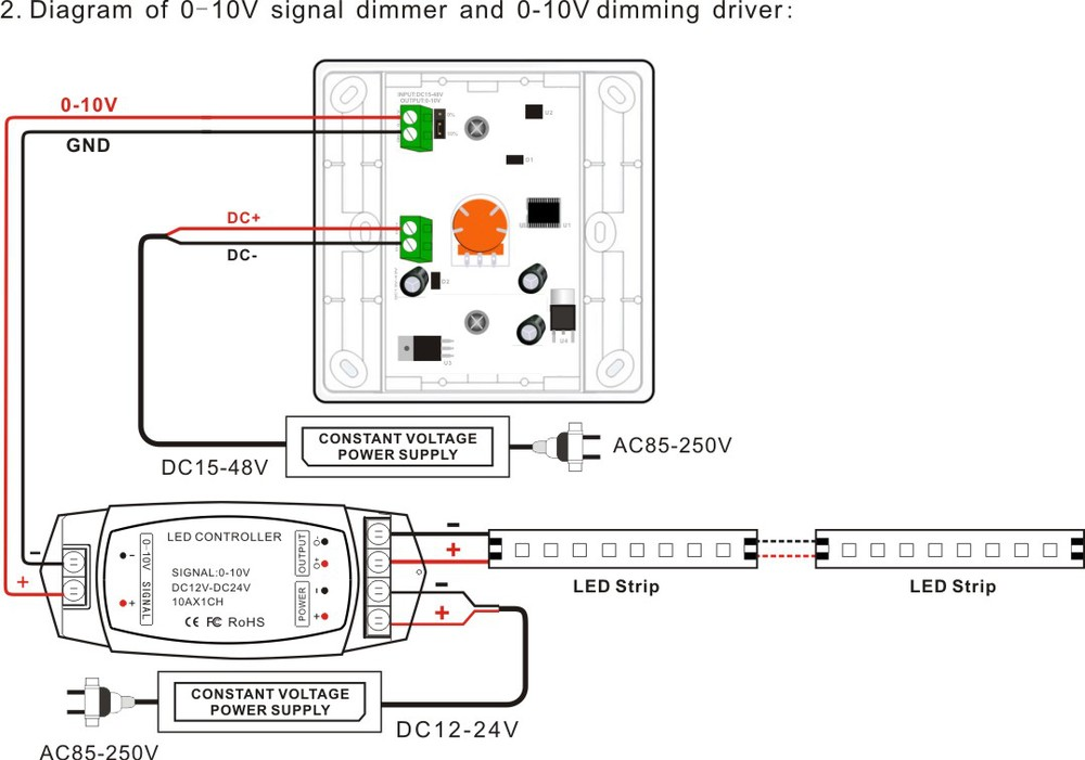 HTB1dJVFHXXXXXX_XpXXq6xXFXXXI wireless ir remote switch control 0 10v led lighting dimmer 12v 6 PC LED Switch Wiring Diagram at mifinder.co