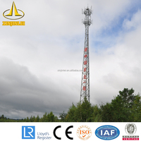 Telecommunication Wireless Steel Tower