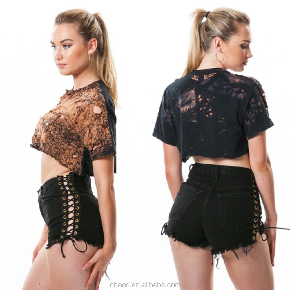 faf9c1ca45 HT-WJS02 summer europe style women fashion girls mini jeans short pants  denim shorts hot