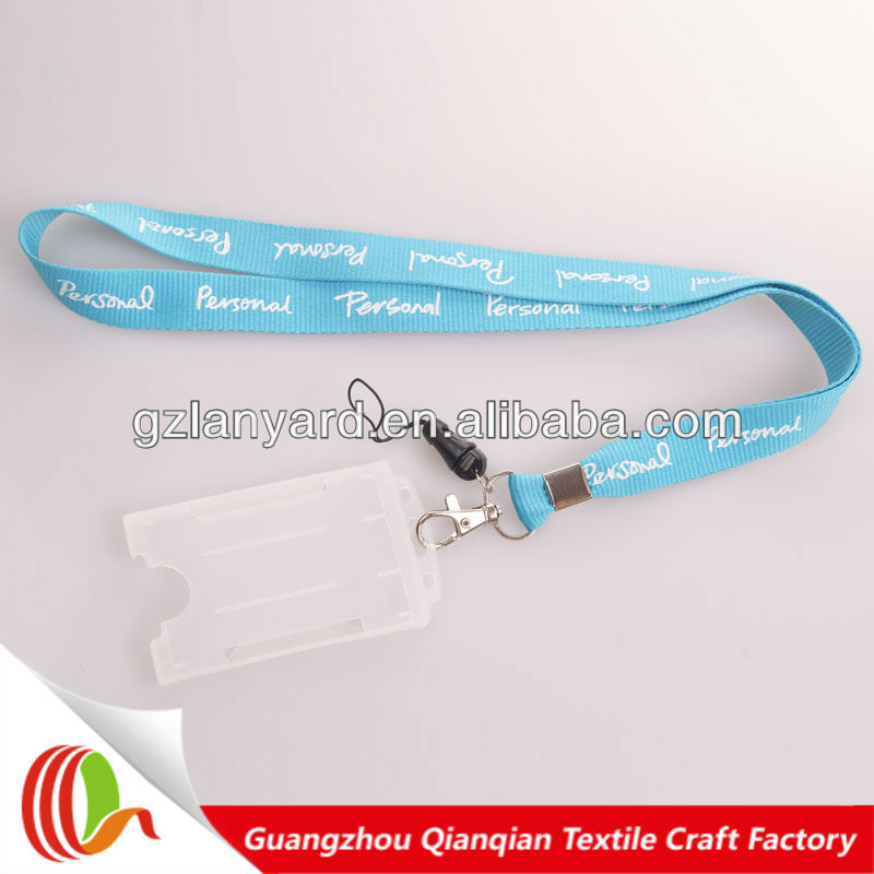professional neck card holder strap,neck lanyard for id card holder