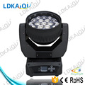 19*15w 4in1 zoom led rgbw moving head / pro led zoom wash beam moving head / stage wash light