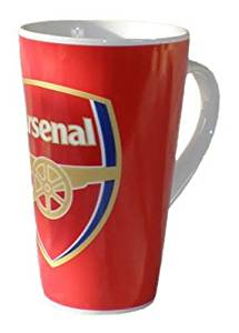 Arsenal Fc Official Ceramic Latte Mug