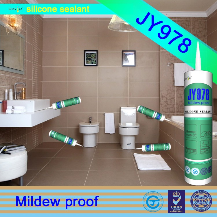 JY978 China factory directly neutral anti-mildew silicon sealant adhesive kitchen tile