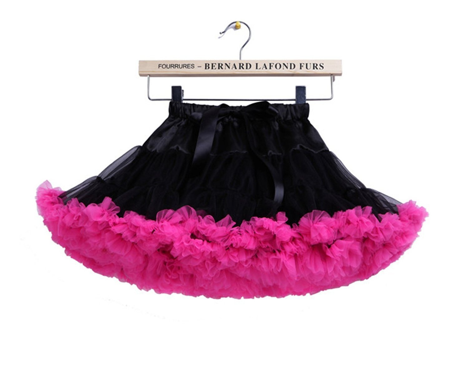 SoAyle Childrens Ballet Skirt Puff Party Dance Tulle Tutu Pettiskirts