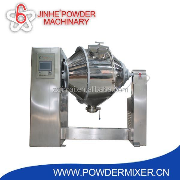 High efficiency double rotating food mixer