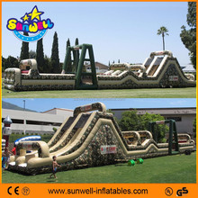 inflatable army obstacle course,inflatable military obstacle ,inflatable army bouncy obstacle