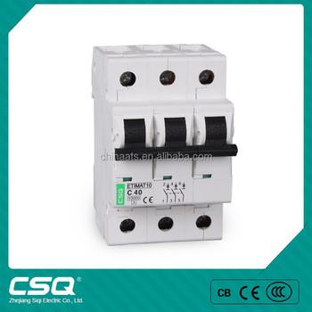 Glob6-63 63 Amp 3p Arc-shaped Circuit Breaker Mcb