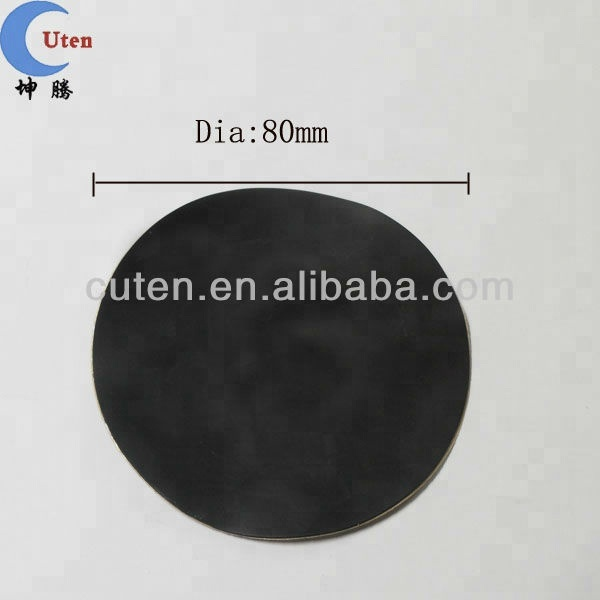 Round Non Slip Furniture Flexible Rubber Adhesive Pads