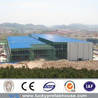 10 Years Warranty prefabricated concrete warehouse for Production Workshop