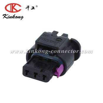 1 Row 3 way 1.2 series socket housing connector 1-1670917-1