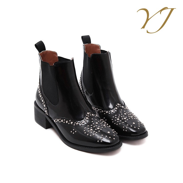 Factory Wholesale black genuine leather sexy girls riding boots