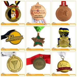 Factory Price Custom Cheap Sports Commemorative Metal Award Honor Medal