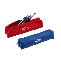 Cheap Wholesale Printed Zipper Pencil Case