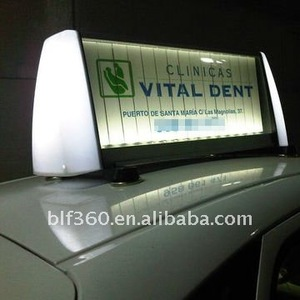Trivision Taxi light box/ Car top ads CDF-15