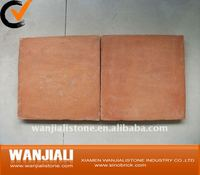 Red Terracotta floor tiles