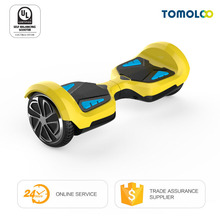 Tomoloo 2 Wheel Smart Balance Electric Scooter Hoverboard UL2272 certified Motorized Standing Drift Board