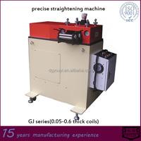 precise metal sheet roller straightener machine