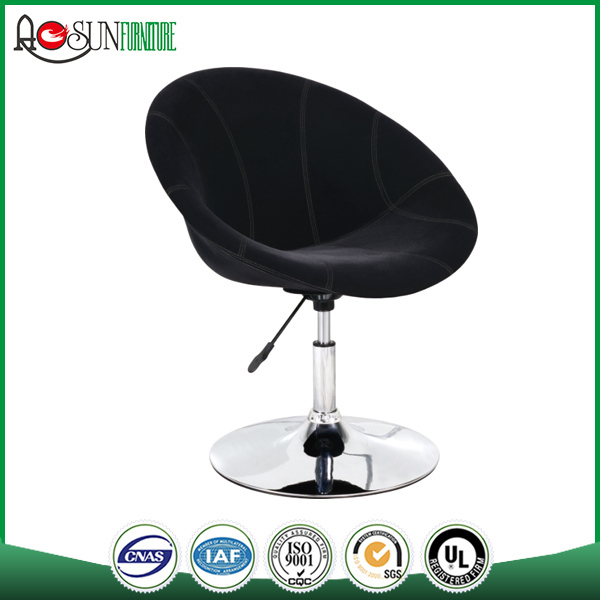 2017 China Supplier ISO 9001 Factory PU Leisure Chair Fabric Cushion Dining Chair