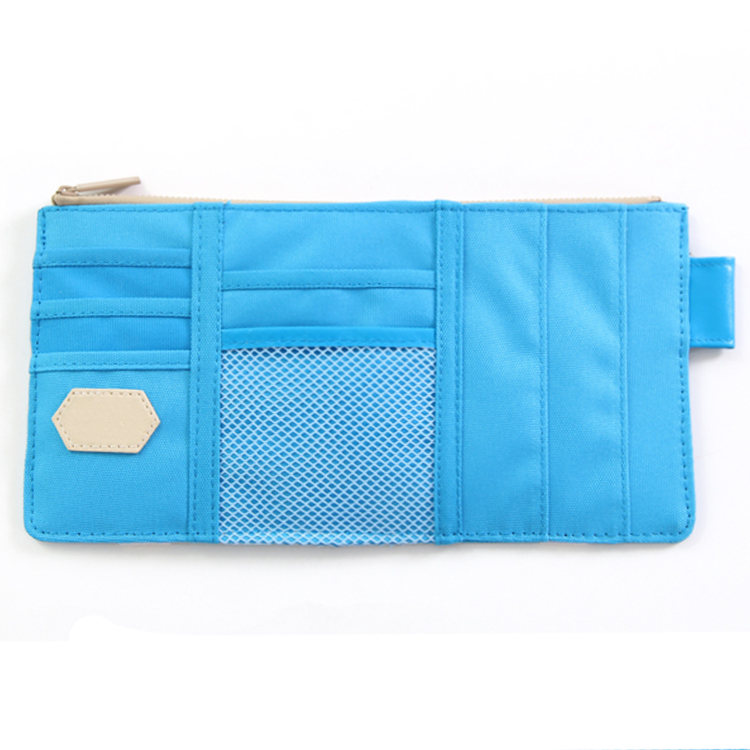 Durable Oxford cloth material small storage pouch document holder car <strong>sun</strong> visor organizer