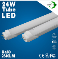Green energy t8 led tube high lumen high brightness 24w led tube t8 150cm