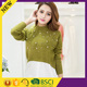 Customized heavy knitted quality latest design women winter sweater