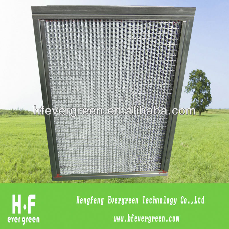 Stainless Frame Box Type Humidity Filter
