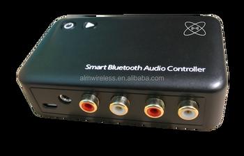 Alm Wireless Low Latency Apt-x Audio Codec 4 0 Bluetooth Speaker  Transmitter And Receiver - Buy 4 0 Bluetooth Audio Controller Bluetooth  Receiver,Mini