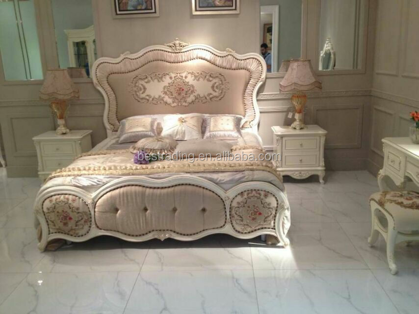 French royal antique italian laminate bedroom furniture sets french