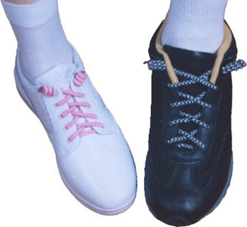 Curly Shoe Lace - Buy Sheer Lace Shoe