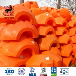 Plastic Floater PE floater Buoy Floating Pontoon for dredging