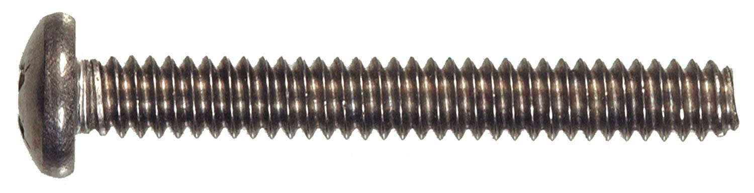 20-Pack Stainless Steel Flat Head Phillips Machine Screw The Hillman Group The Hillman Group 4029 10-32 x 1//2 In