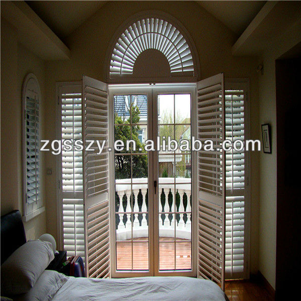 Windproof European Shutter For Project